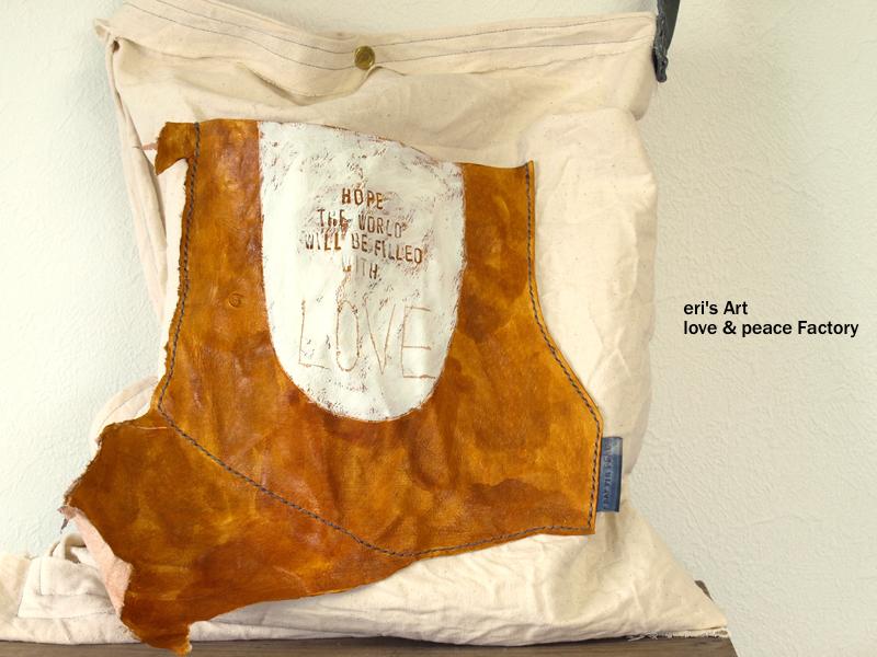 布+革 バッグ Bag-113