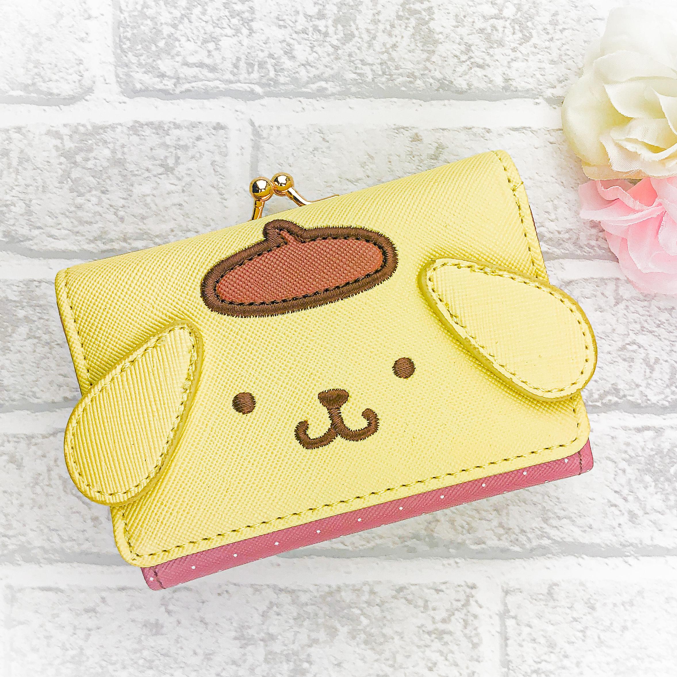 サンリオキャラクターミニ口金財布(ポムポムプリン)