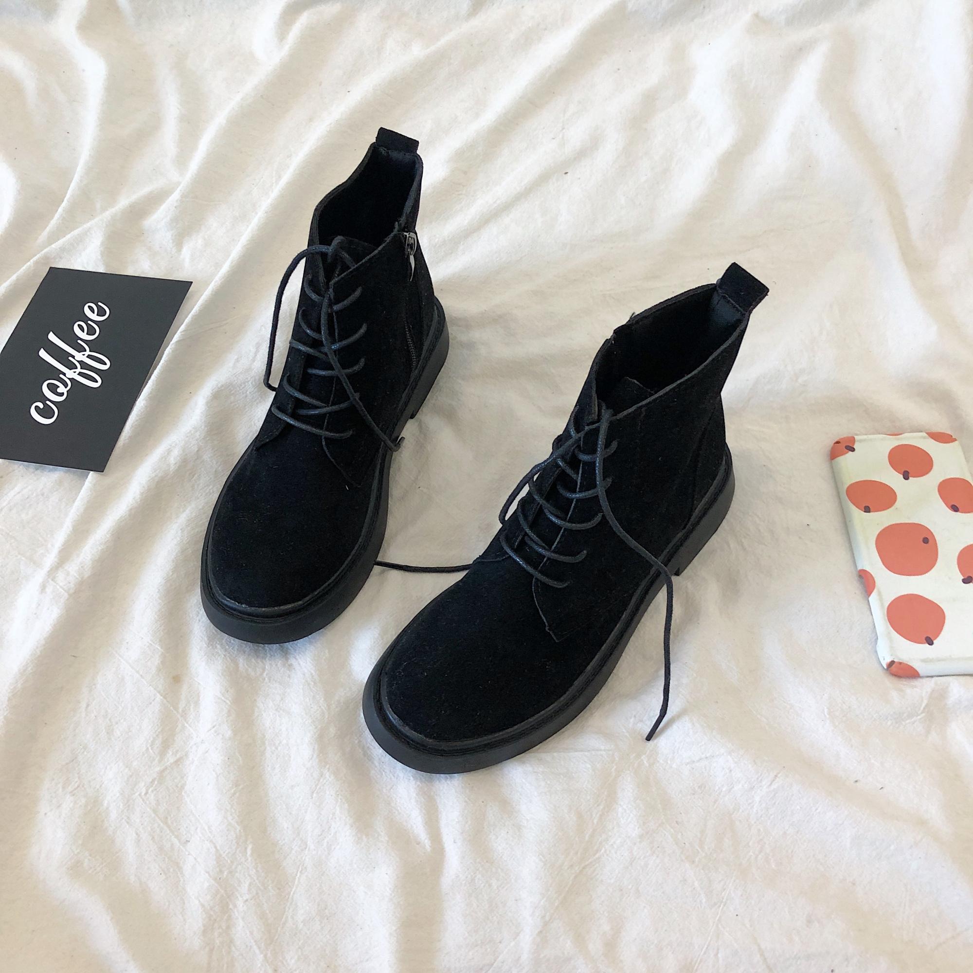 学生風マーティンブーツ【school martin boots】