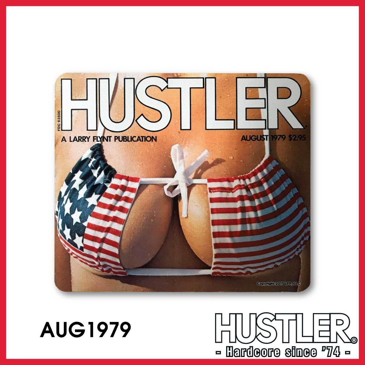 HUSTLER MOUSE PAD(ハスラー・マウスパッド) / AUGUST 1979 カバー