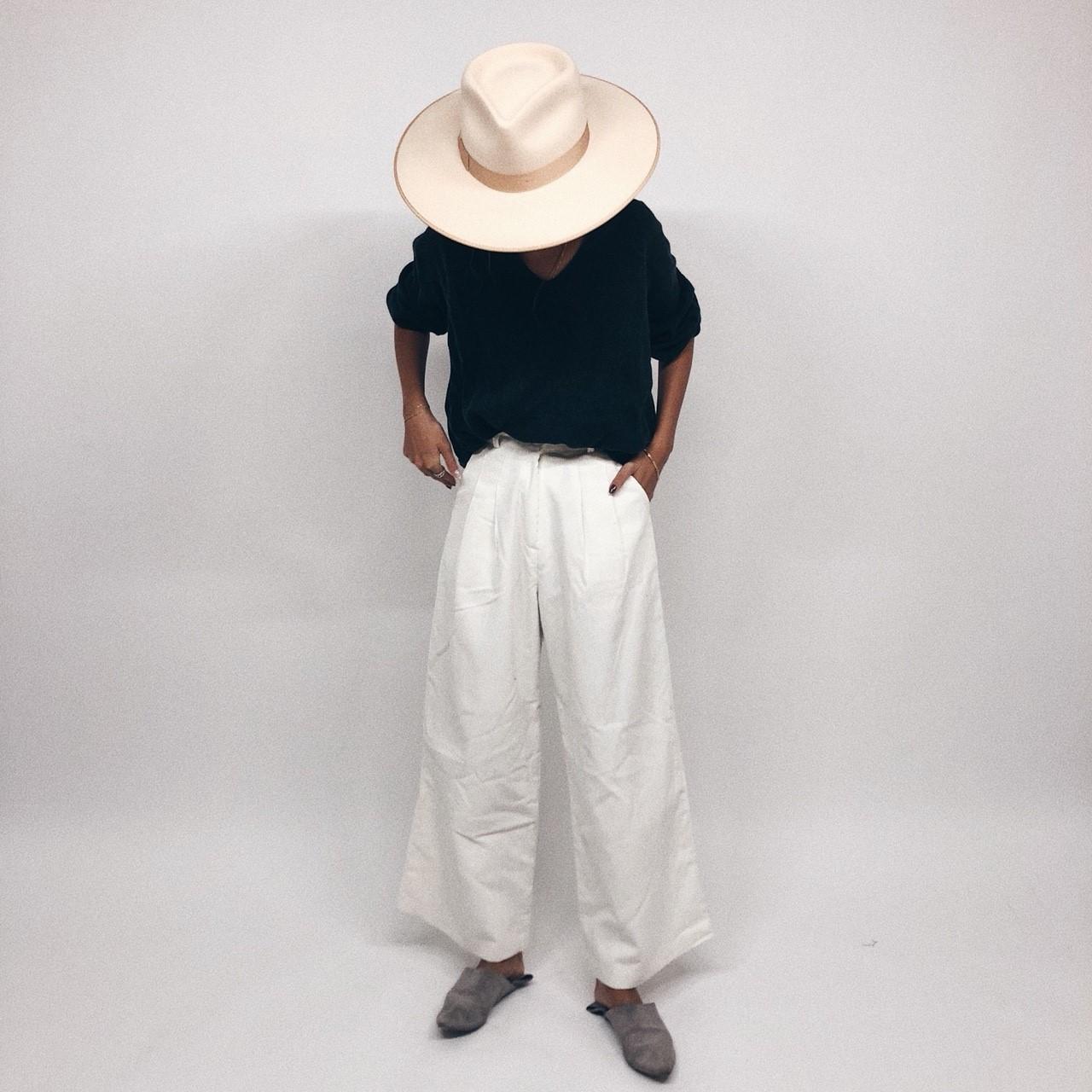 White Corduroy Pant