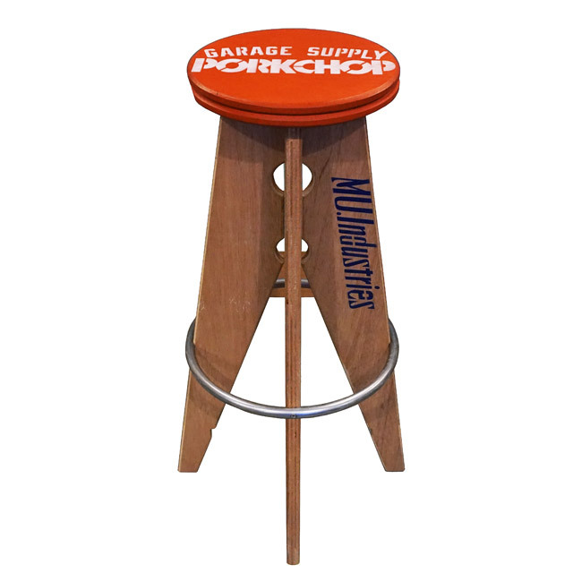 PORK STOOL Large / RED