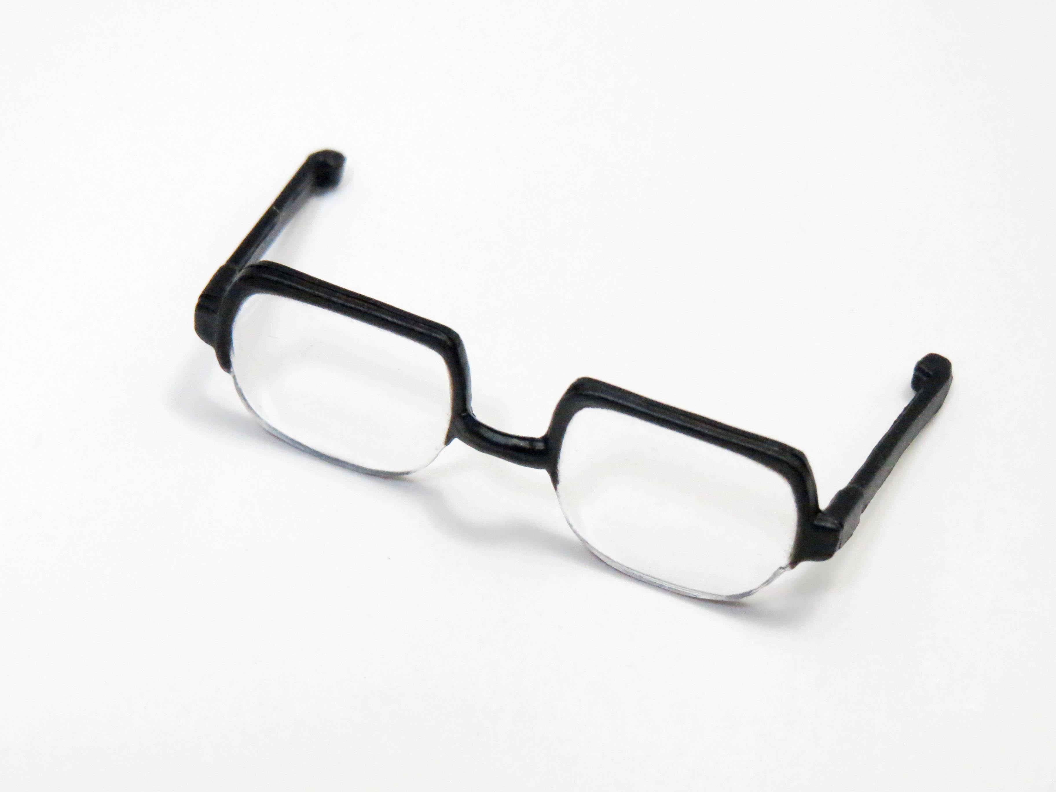 再入荷【803】 江戸川コナン 小物パーツ メガネ ねんどろいど