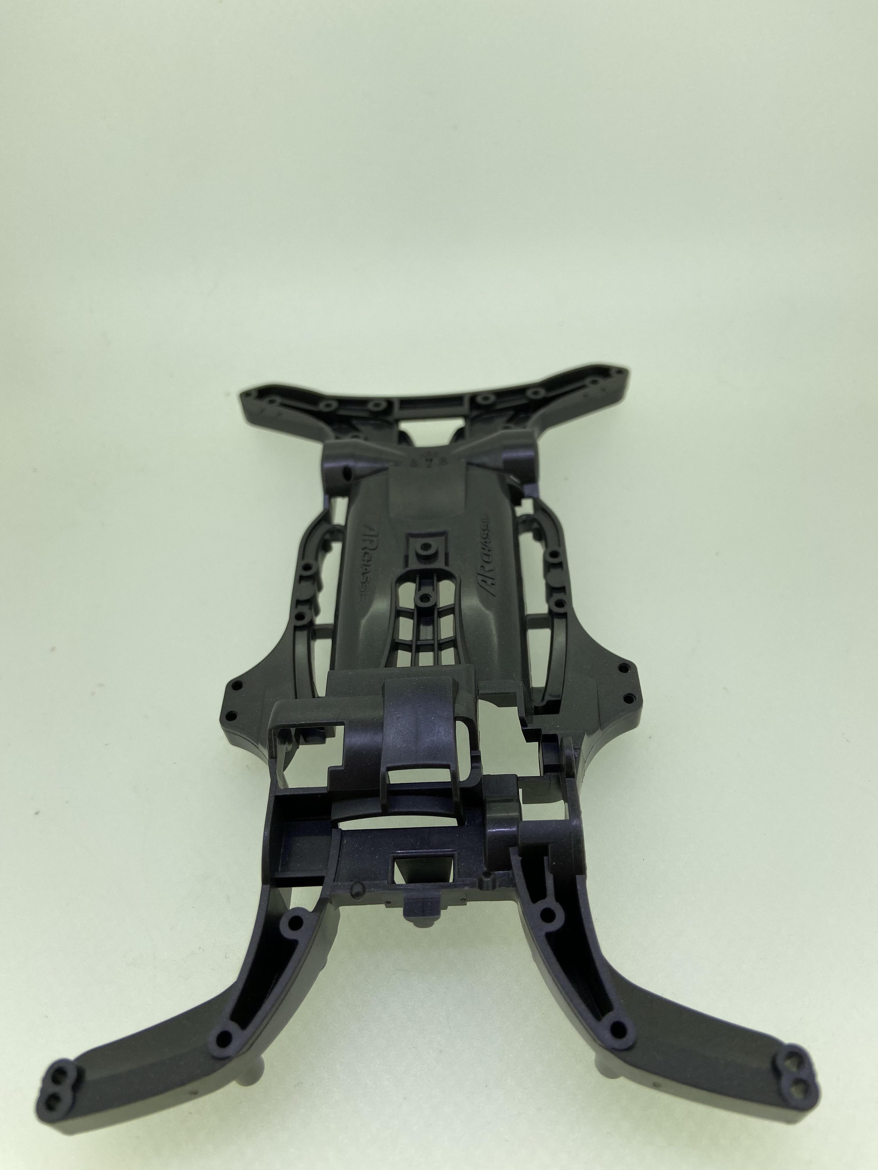 ABS製 ARシャーシ メタリックグレー