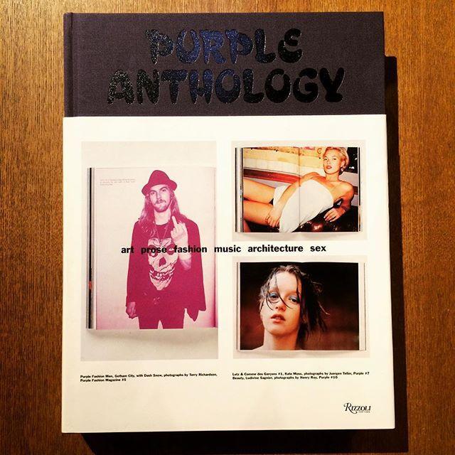 ファッションの本「Purple Anthology」 - 画像1