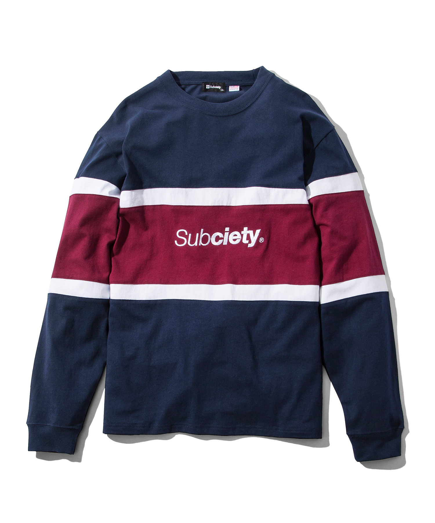 Subciety(サブサエティ) | SWITCHED L/S (Navy)