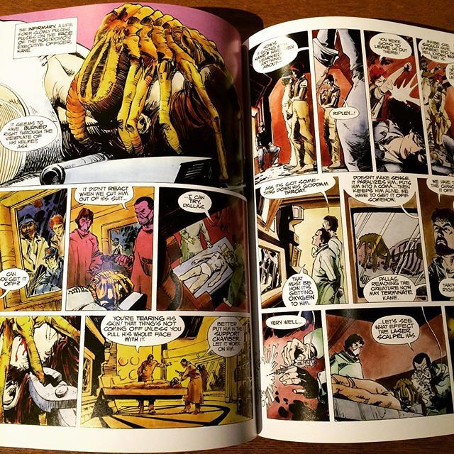 コミック「Alien: The Illustrated Story/Archie Goodwin、Walt Simonson」 - 画像2