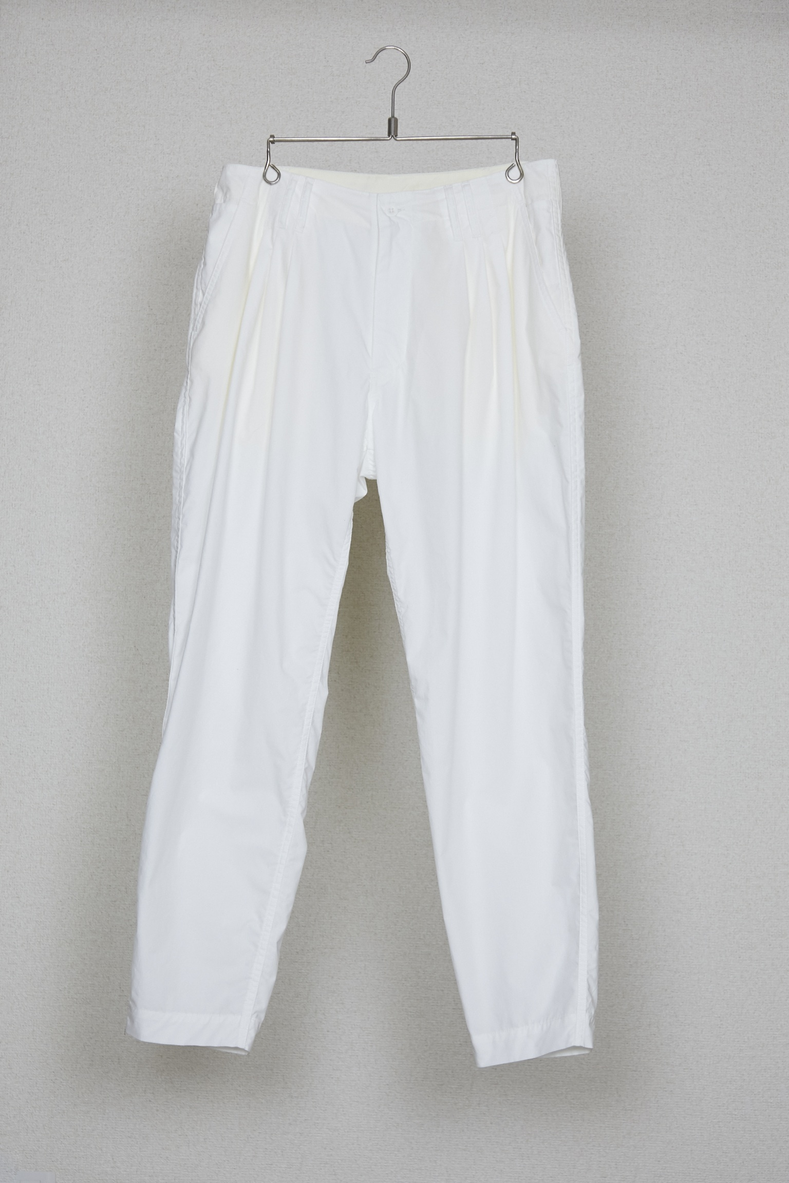 50%OFF【HUMIS】CHEMICAL 3-TUCK PANTS