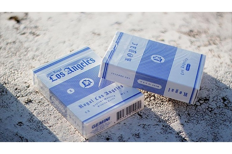 Royal Los Angeles Playing Cards by Toomas Pintson