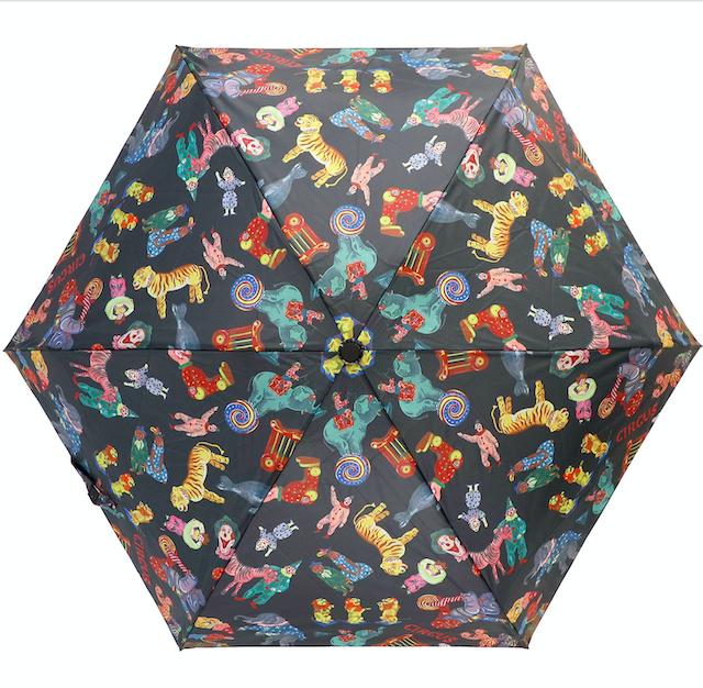 Nathalie Lete Folding umbrella Circus / ナタリーレテ 折り畳み傘