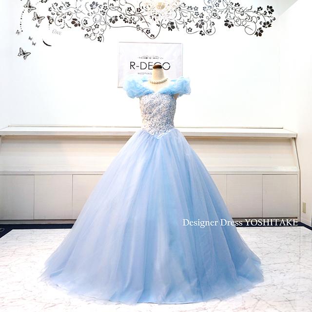 【オーダー制作】ウエディングドレス プリンセスシリーズ/シンデレラドレス 披露宴/お色直し ※制作期間3週間から6週間