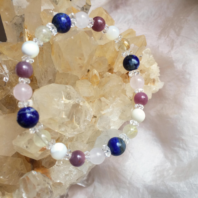 Jophiel ジョフィエル gemstone bracelet