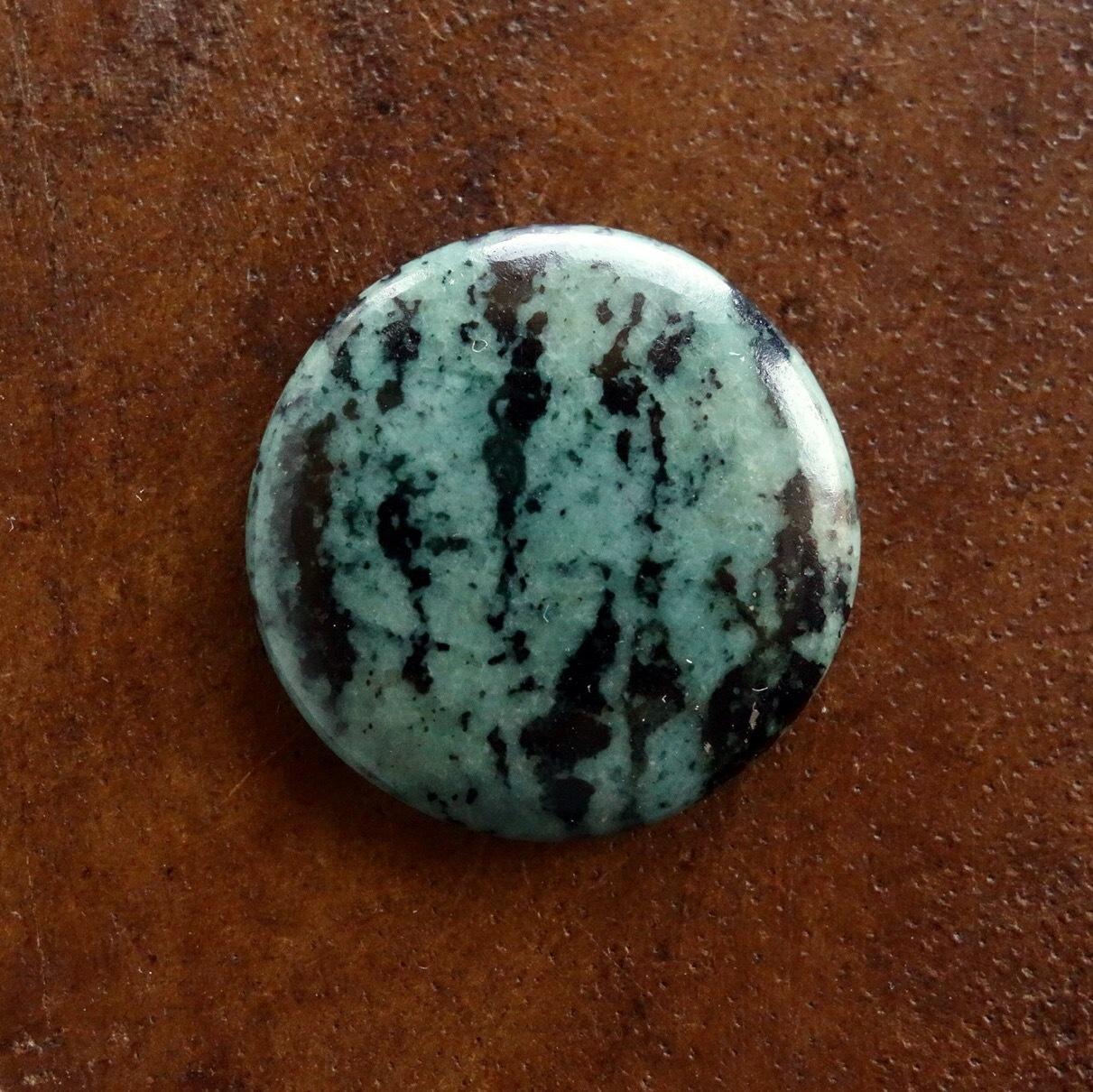 グリーンゼブラジャスパー 天然石ルース