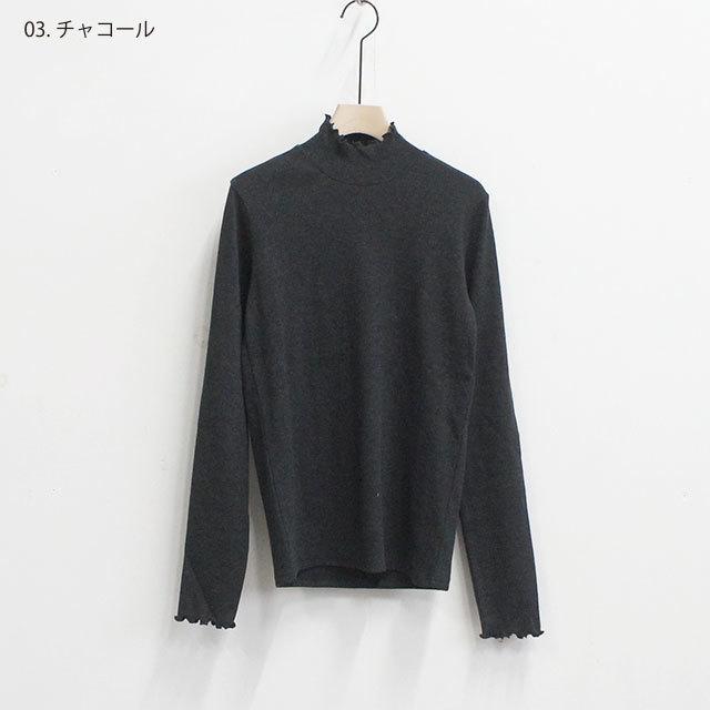 Neu-tral wear life ニュートラルウェアライフ ストレッチテレコ後ろボタンタートル (品番n-108)