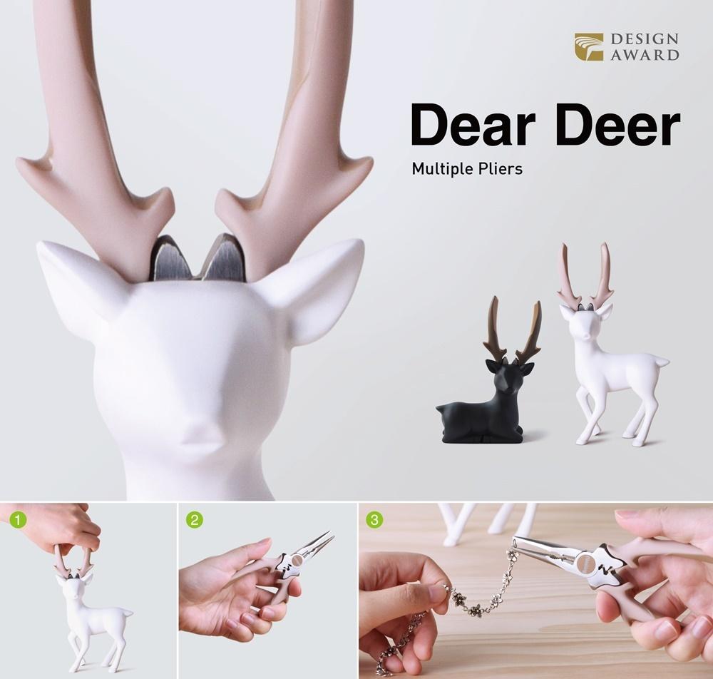 【ニッパー】Dear Deer Pliers(ディアプライヤ座姿勢)