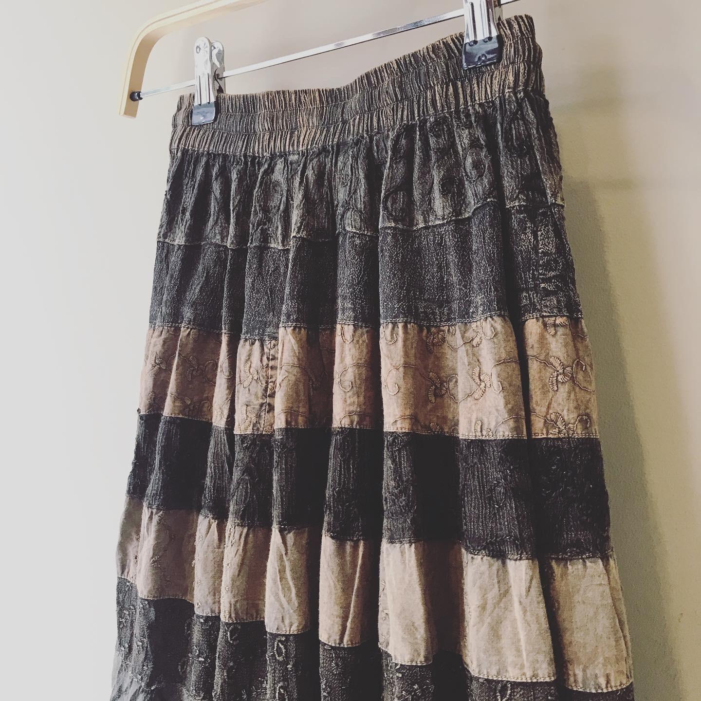 vintage chemical skirt