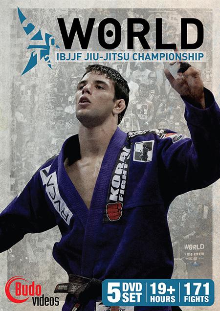 世界柔術選手権(ムンジアル)2012 5枚組DVD ブラジリアン柔術試合