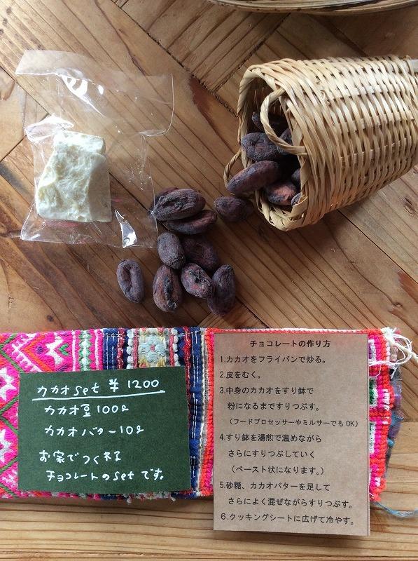 【限定】カカオ豆キット~カカオ豆からチョコレートをつくろう~
