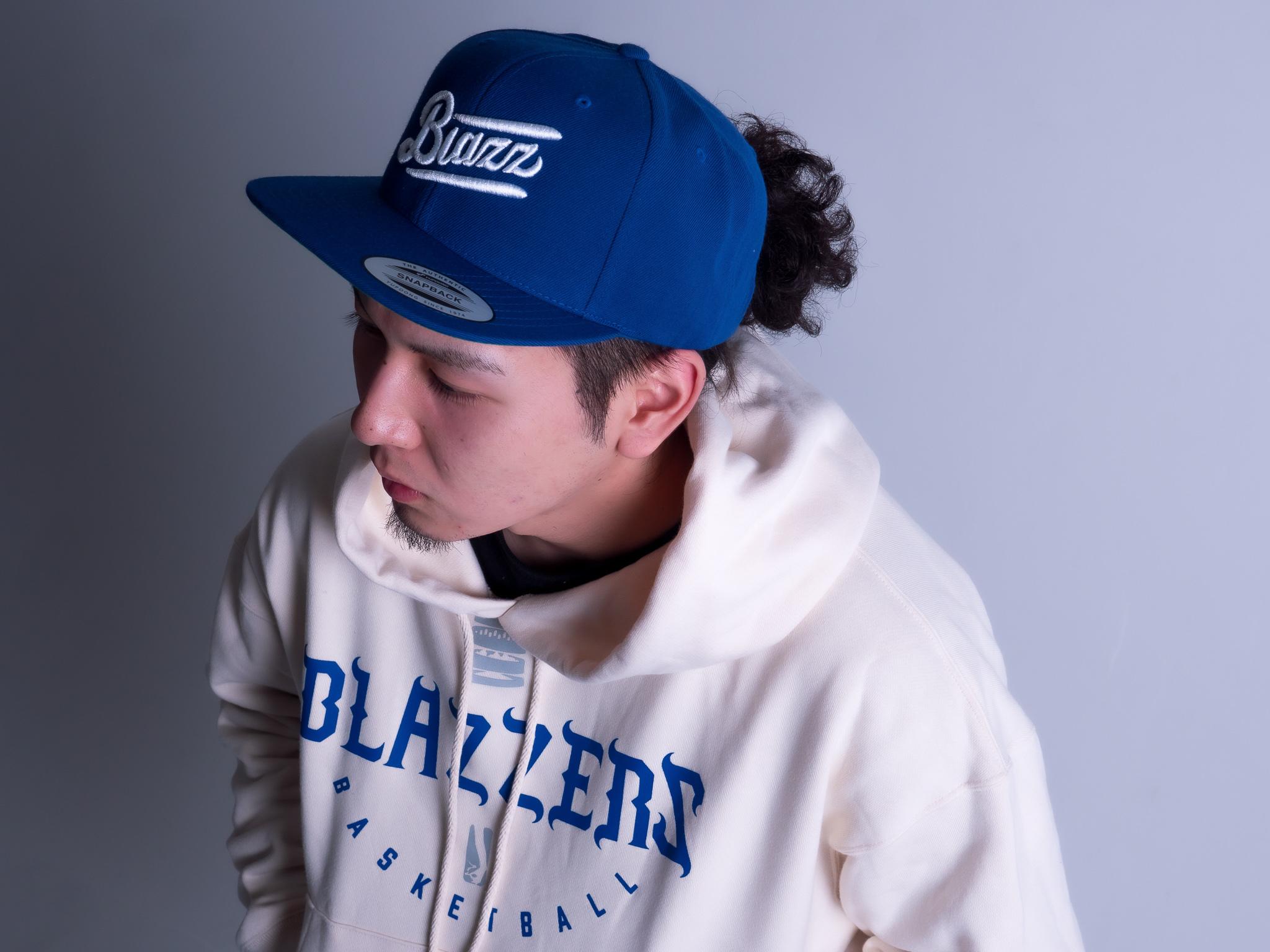 BLAZZERS CREW TEAM HOODIE -MADE IN JAPAN- [CREAM]