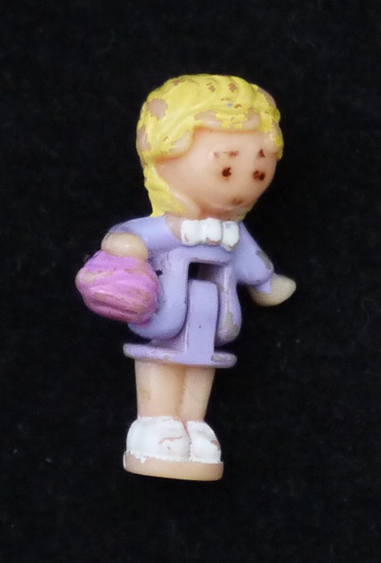 ポーリーポケット 93年子ネコの家(ペットシリーズ)の人形