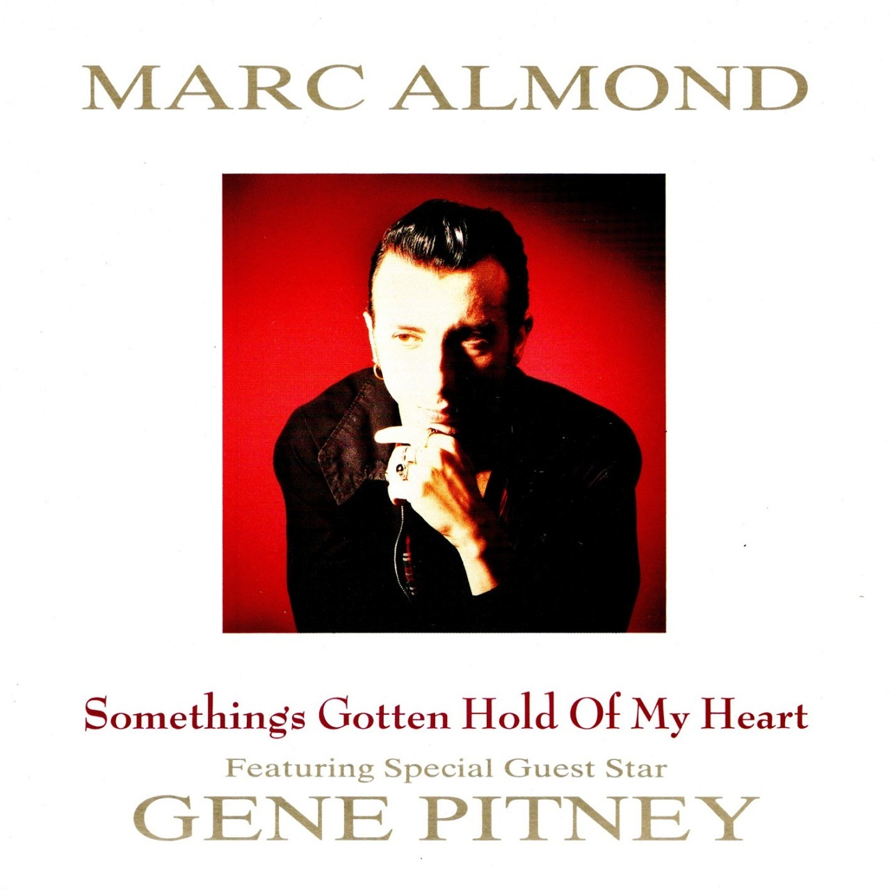 【7inch・英盤】Marc Almond (Featuring Special Guest Star Gene Pitney)   /  Something's Gotten Hold Of My Heart