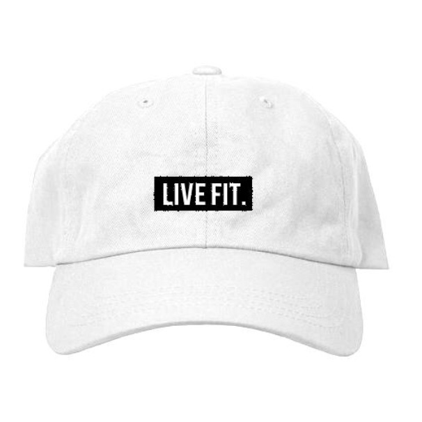 LIVE FIT Original Cap- White