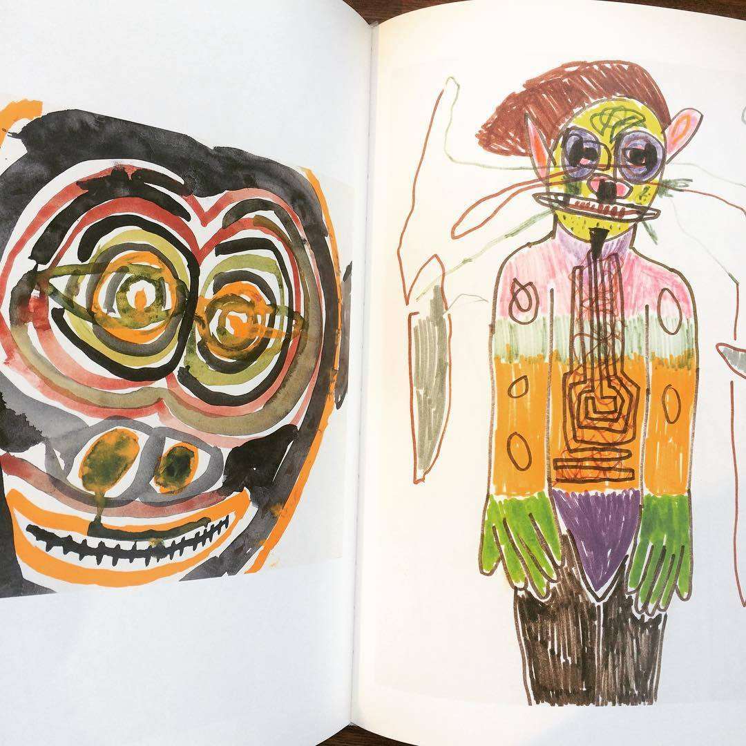 リチャード・プリンス画集「Hippie Drawings/Richard Prince」 - 画像3