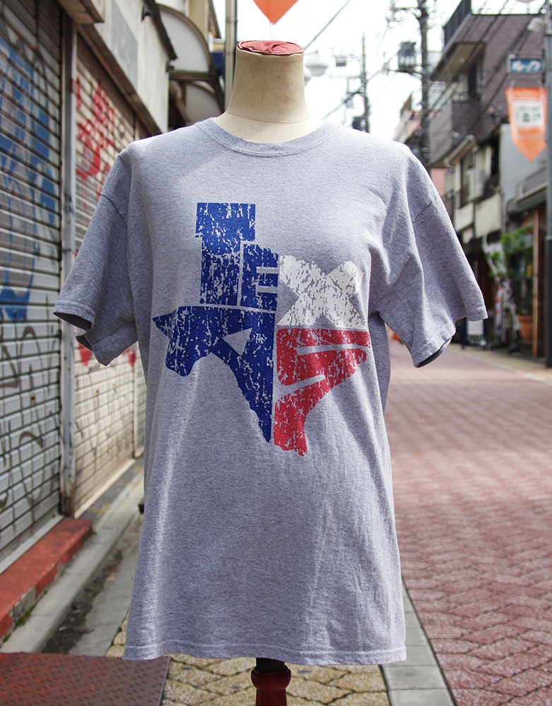 "【USED】 T-shirt ""TEXAS"" Mens/M-size"