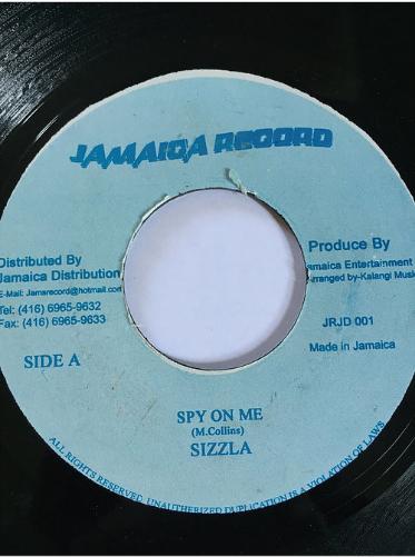 Sizzla(シズラ)- Spy On Me【7'】