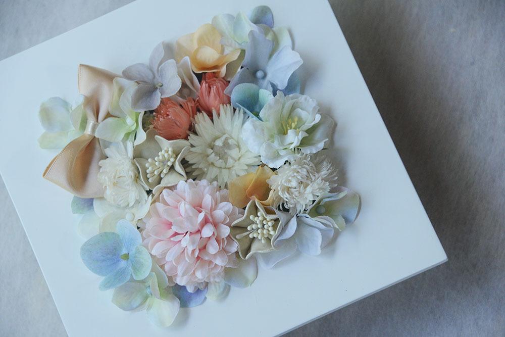 花フレーム 正方形