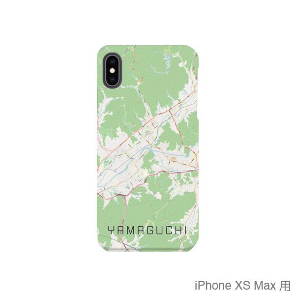 【山口】地図柄iPhoneケース(バックカバータイプ・ナチュラル)