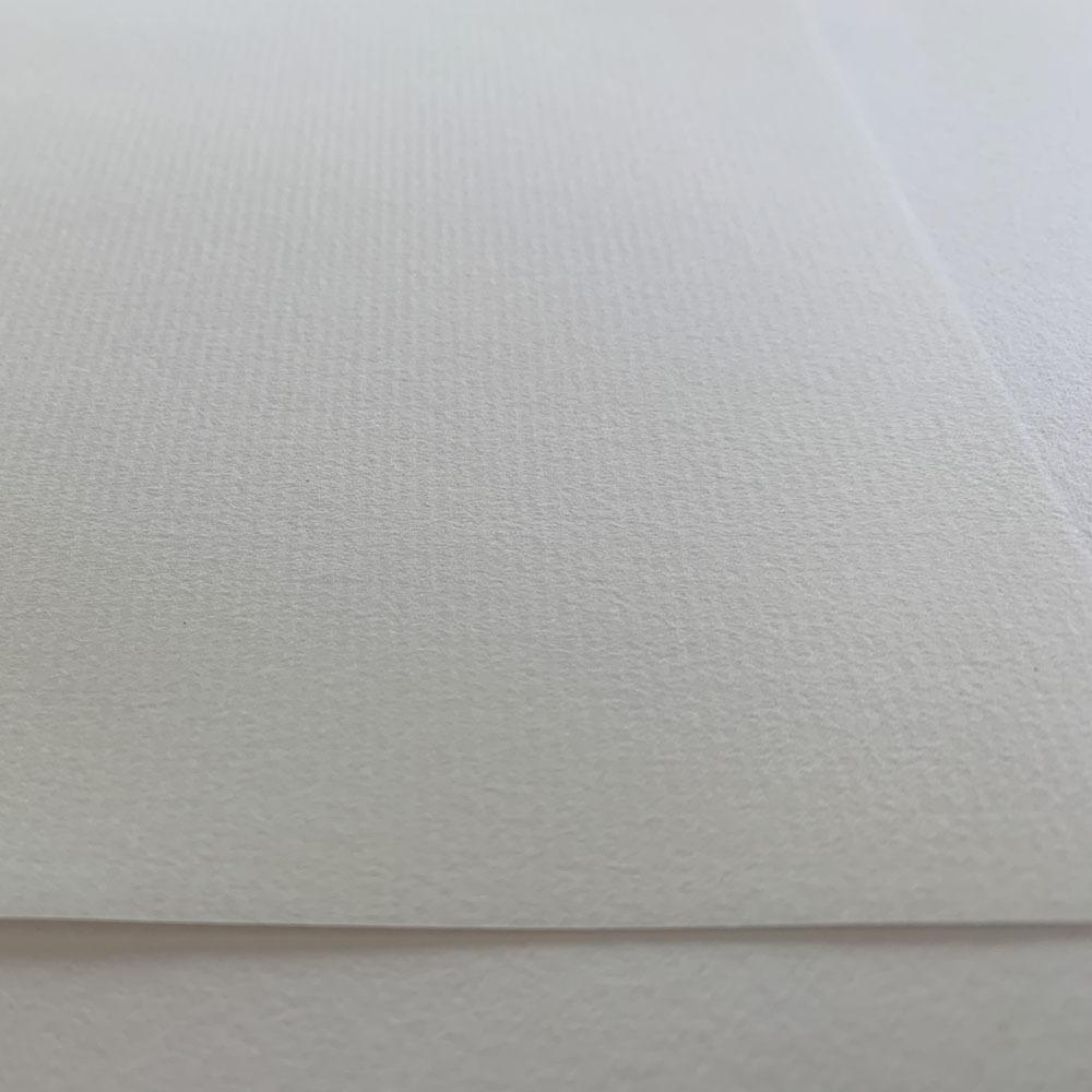 越前機械漉和紙便箋用・簀の目入・白・50枚(180mm×250mm)