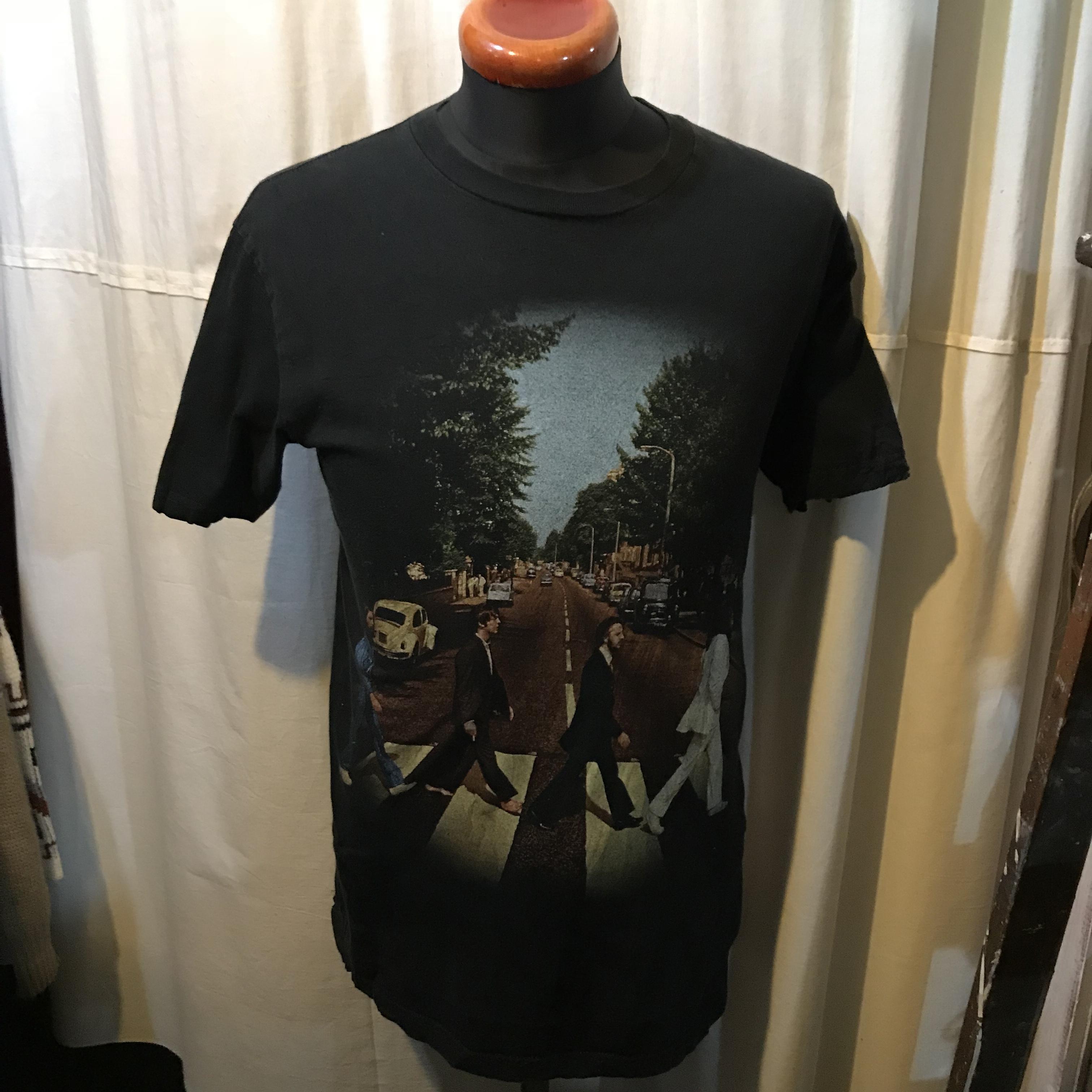 THE BEATLES ビートルズ アビーロード 半袖Tシャツ メンズM