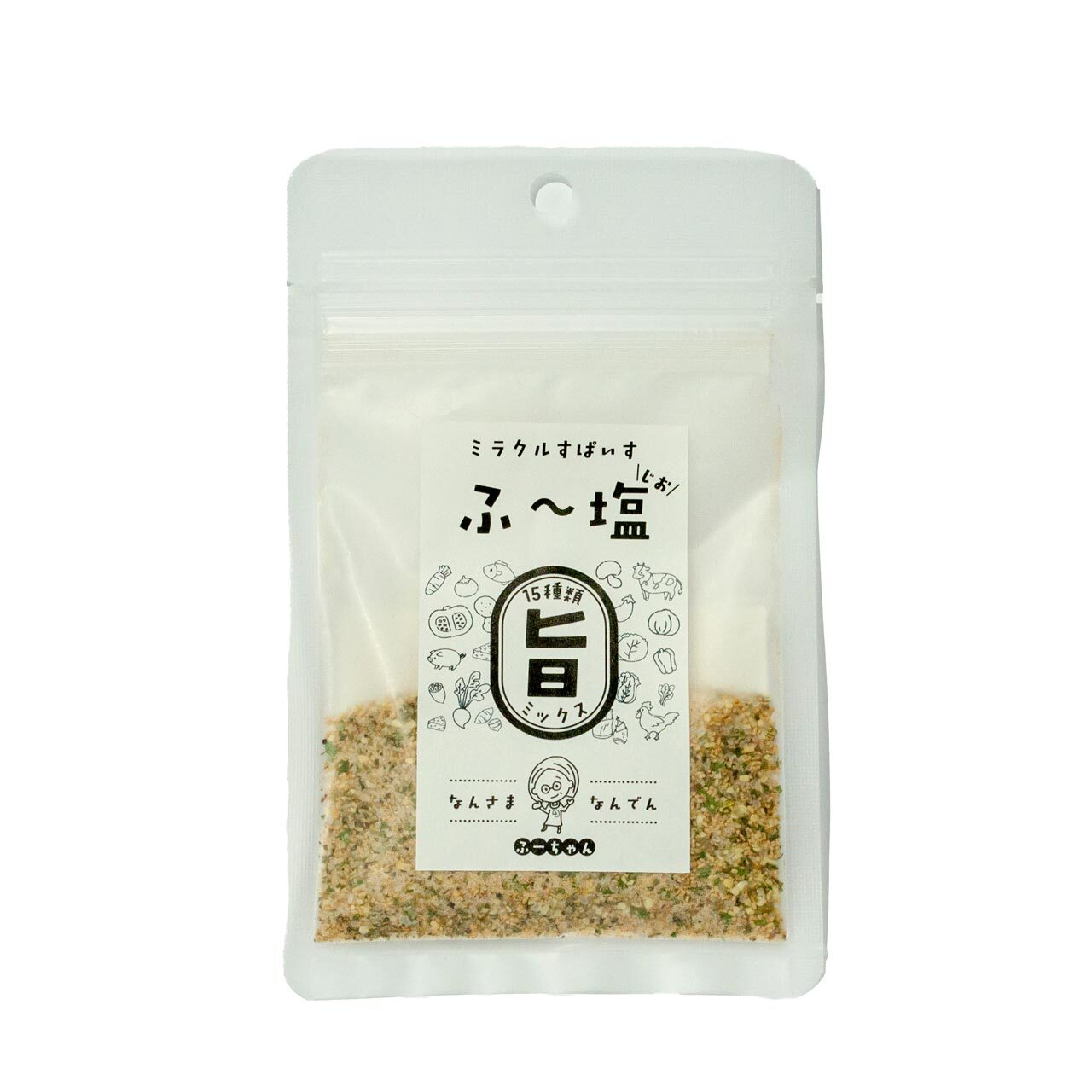 ミラクルすぱいす「ふ~塩」旨ミックス30g(ふー塩、ふーじお)