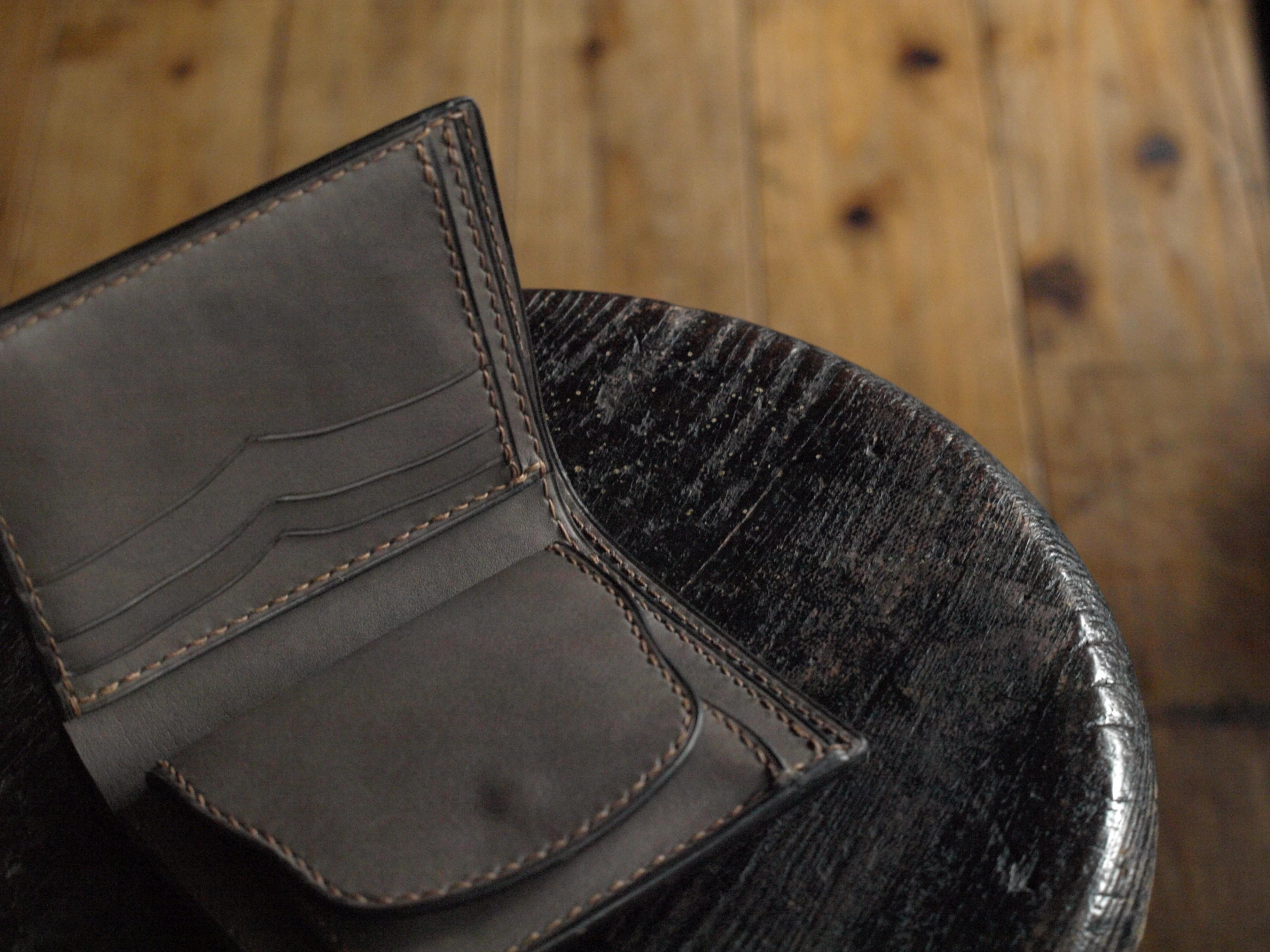 二つ折り財布(ヒノキ)