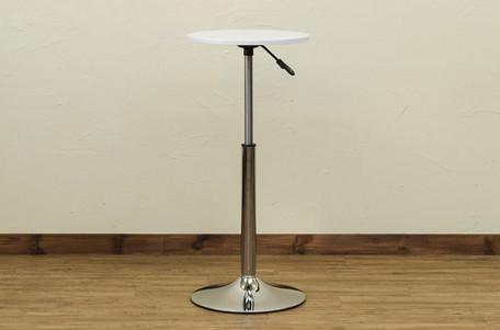 アトリエ家具 昇降式丸テーブル