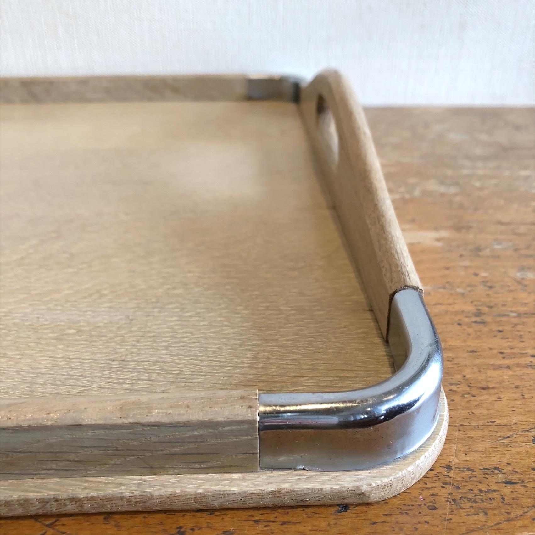 古い木製トレイ C