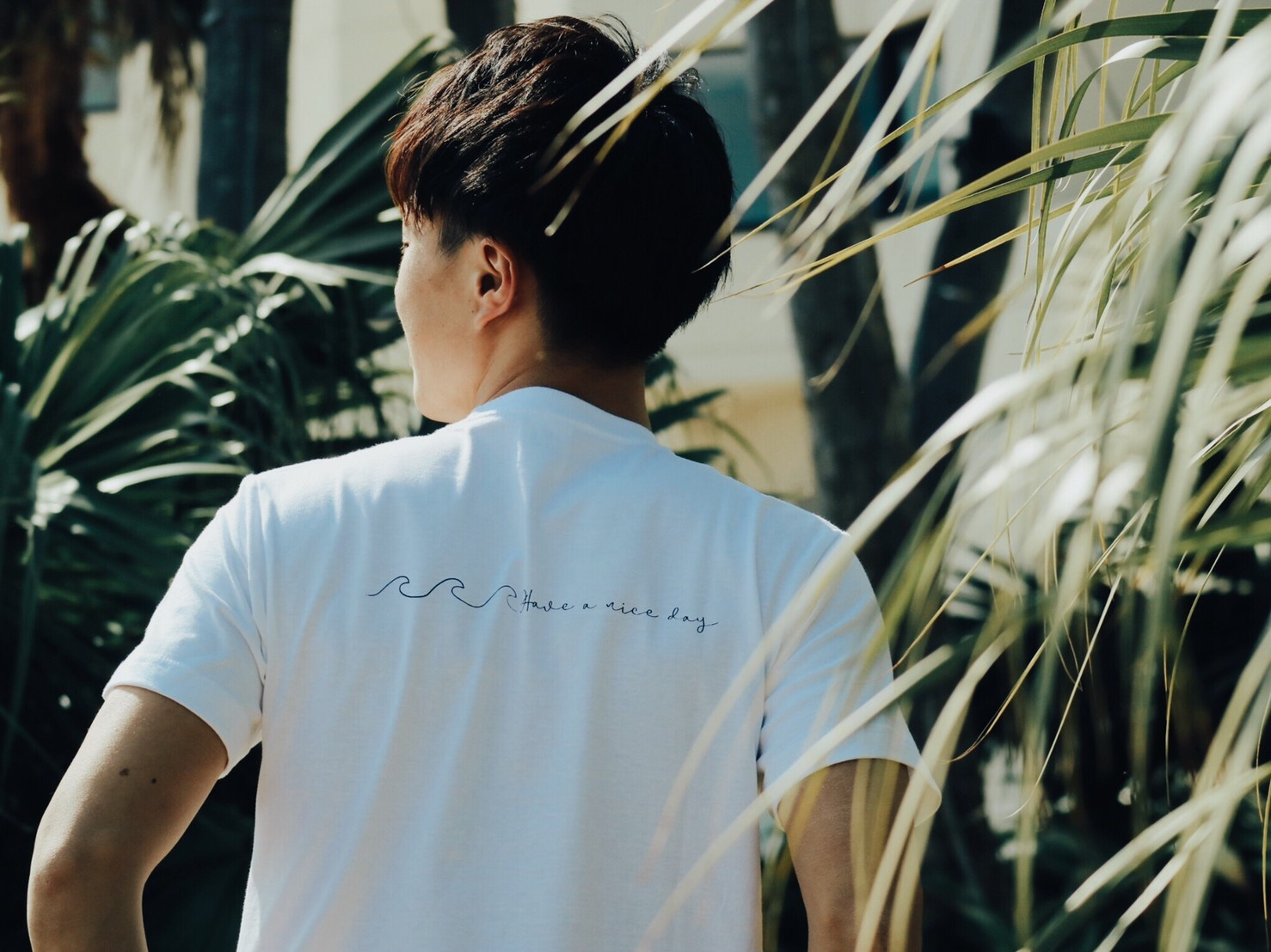 Have a nice day Tシャツ(white)