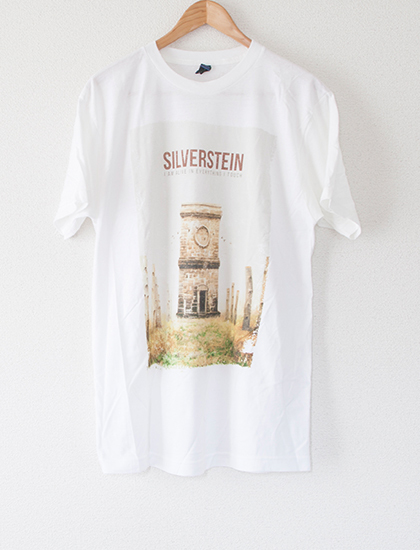 【SILVERSTEIN】I Am Alive In Everything I Touch T-Shirts (White)