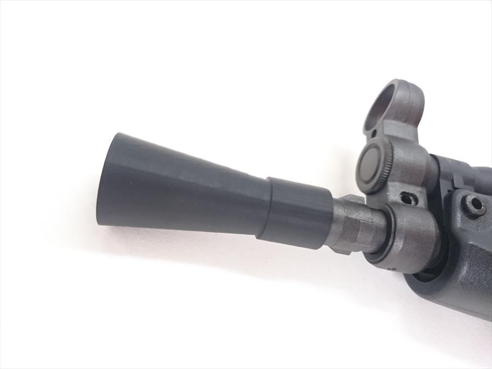 レトロラッパフラッシュハイダー(14mm逆ネジ) | F&F GunParts