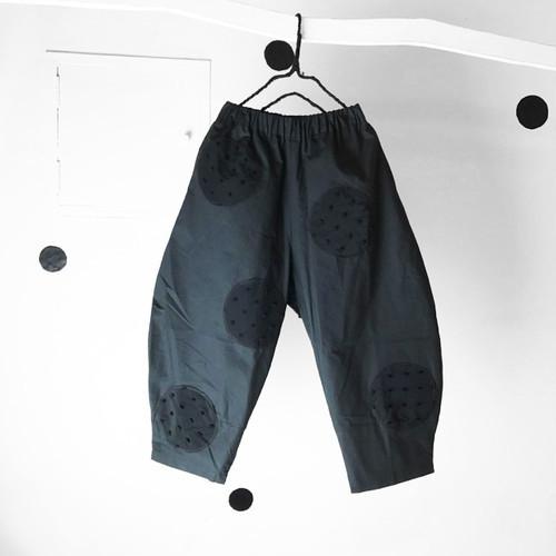 UNEVEN DOTS BIG PANTS WOMEN
