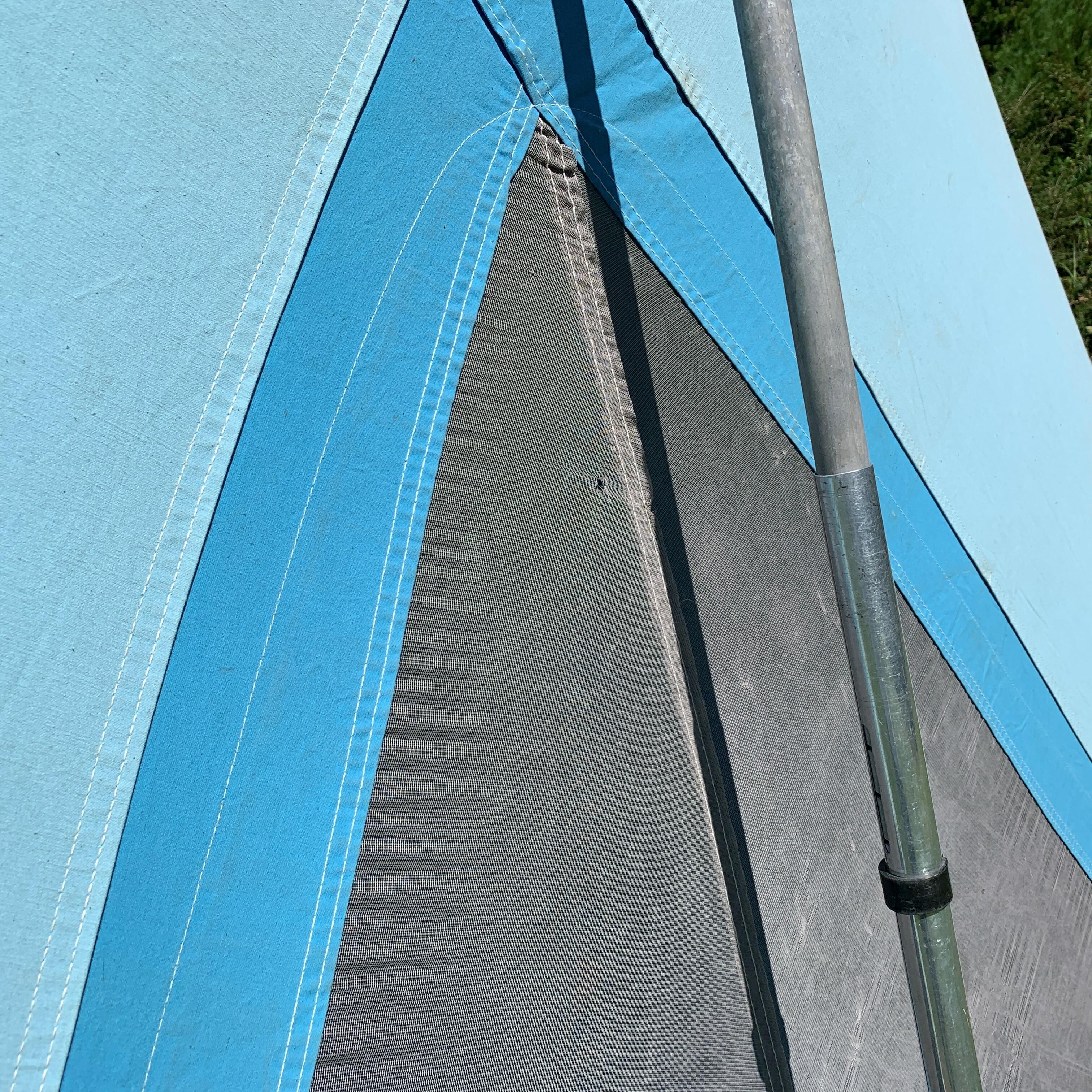 Olympic Cotton Tent 11x10 Quot 8481a840 Quot Coleman コールマン オリンピック