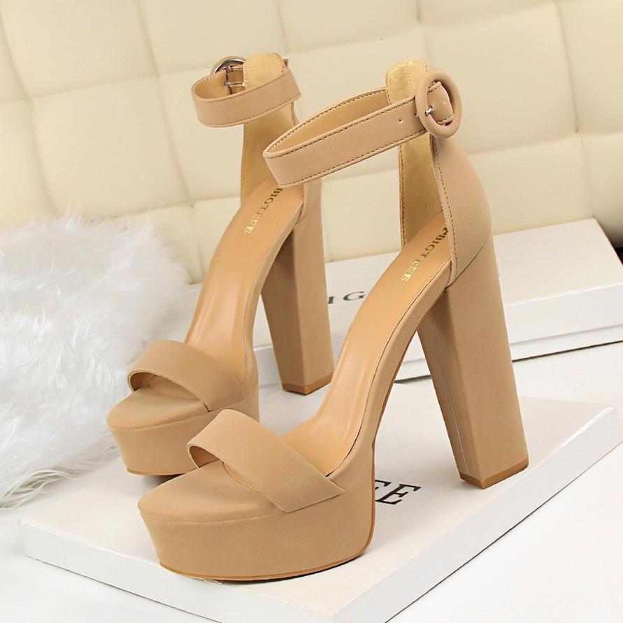 【shoes】ハイヒール全6色通勤レディースサンダル26675851