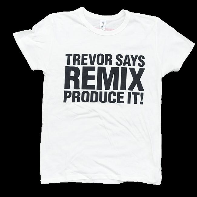 TREVOR HORN REMIX Tシャツホワイト - 画像1