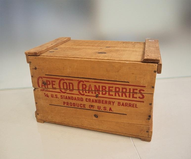 品番0166 木箱 / Wooden Box(CAPE COD CRANBERRIES)