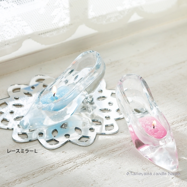 ガラスの靴キャンドル