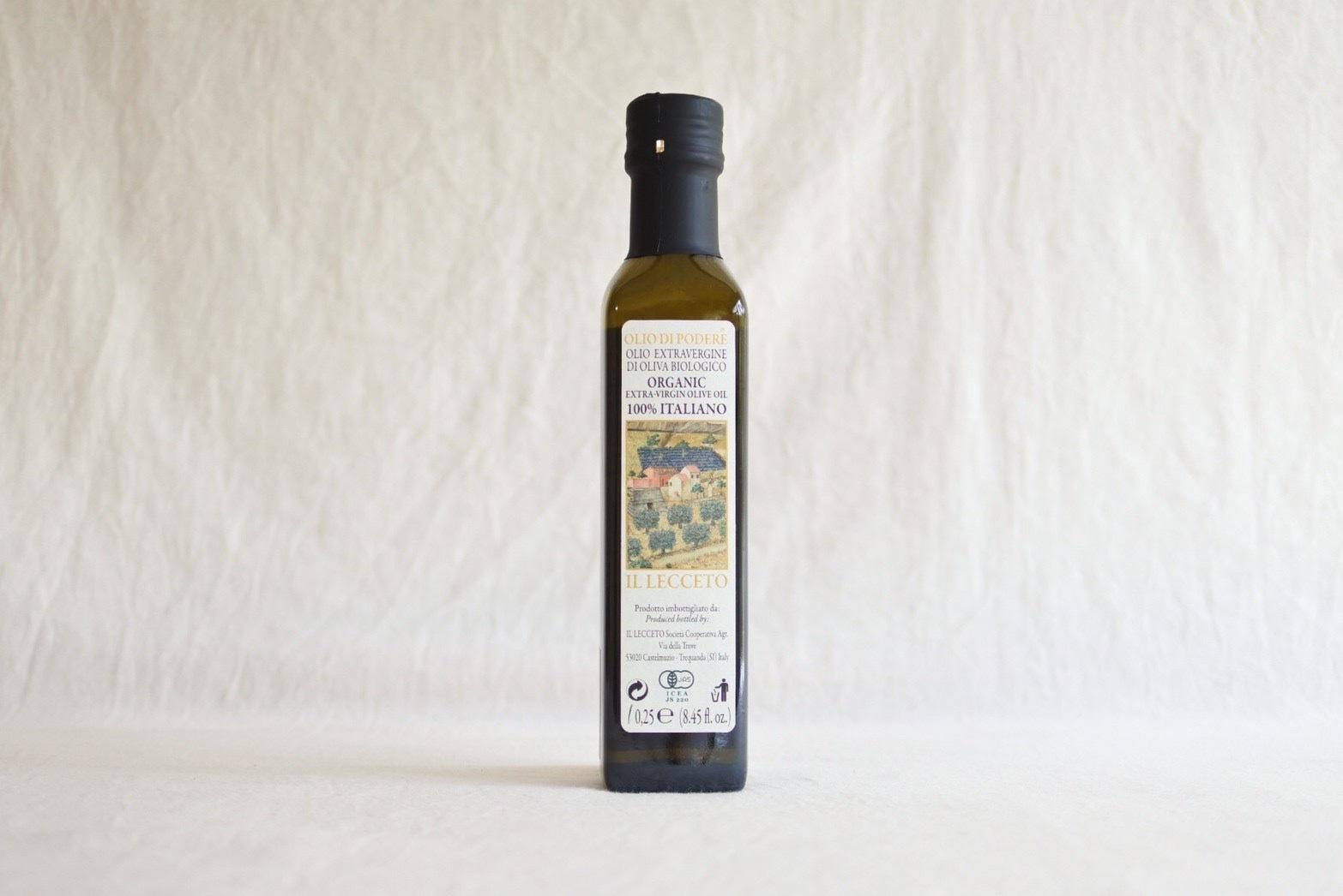 Il Lecceto エキストラバージンオリーブオイル 250ml