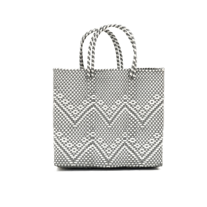 MERCADO BAG GYPSOPHILA - Silver x White(S)