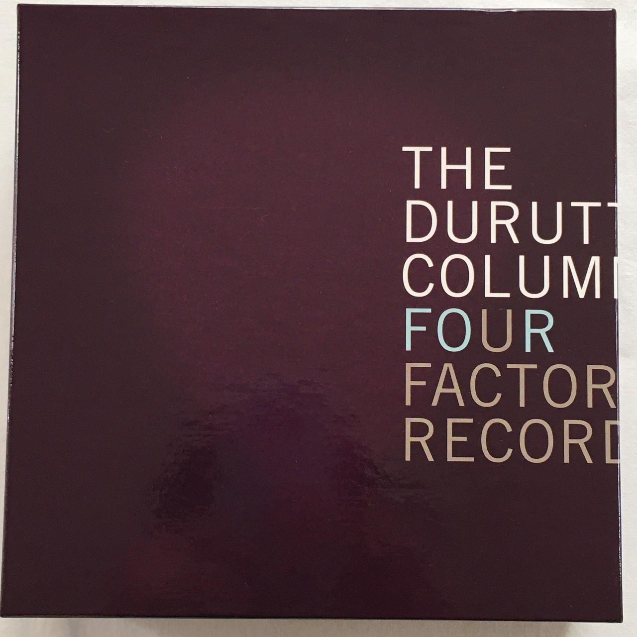 【CDx6・英盤】The Durutti Column / Four Factory Records