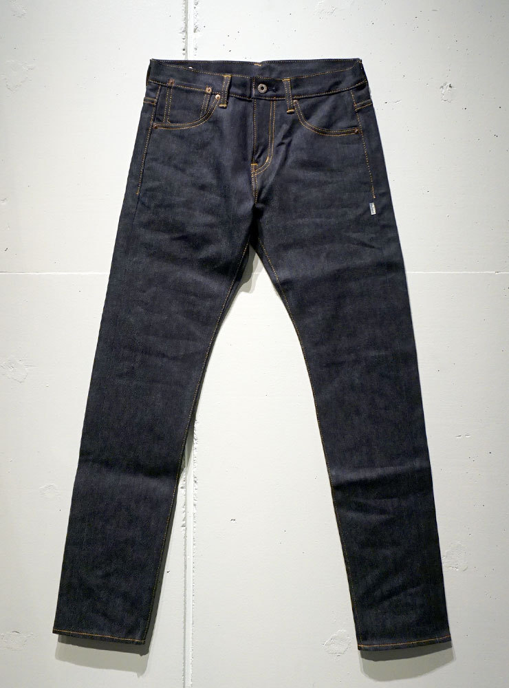 HOSU Type186 TAPERED RAW DENIM インディゴ